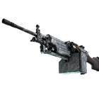 M249 | Blizzard Marbleized (Well-Worn)