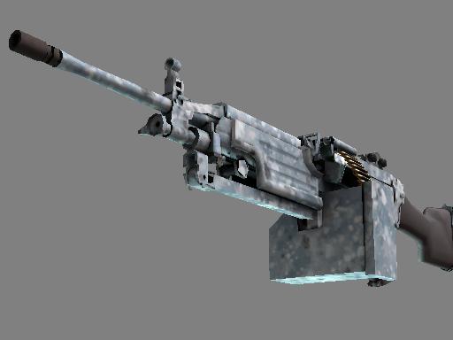 M249 | Blizzard Marbleized (Battle-Scarred)