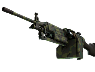 M249 | Пиксельный камуфляж «Джунгли»