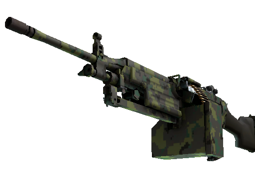Alpha M249 Jungle DDPAT
