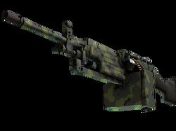 M249 | Пиксельный камуфляж «Джунгли» (Прямо с завода)
