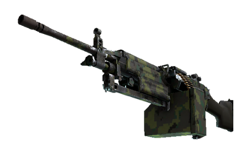 M249 | Jungle DDPAT (Well-Worn) Prices