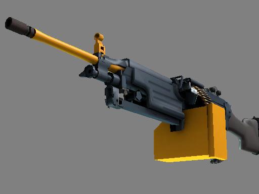 Скин M249   Ударная дрель (Немного поношенное)
