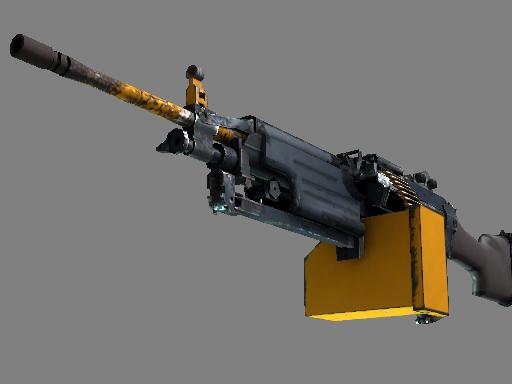 Скин M249 | Ударная дрель (После полевых испытаний)