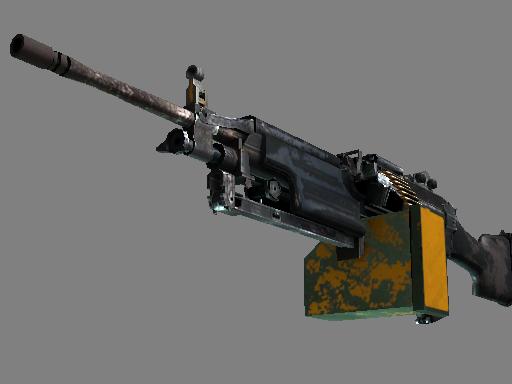 Скин M249   Ударная дрель (Закаленное в боях)