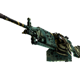 M249 | Emerald Poison Dart (Factory New)
