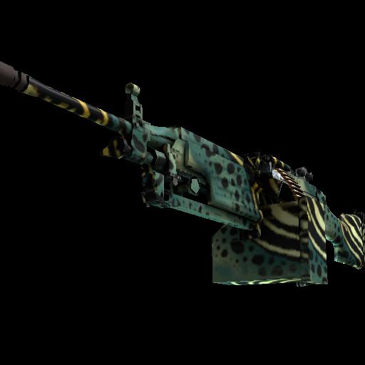 M249 | Emerald Poison Dart - gocase.pro