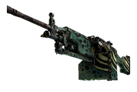M249 | Emerald Poison Dart (Field-Tested)