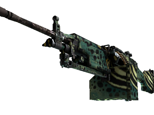 Spectrum M249 Emerald Poison Dart