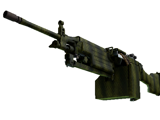 Souvenir M249 | Gator Mesh (Battle-Scarred)