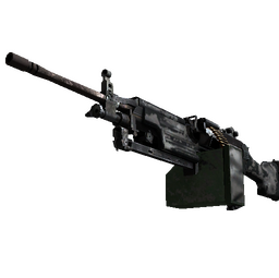 Souvenir M249 | Contrast Spray (Battle-Scarred)