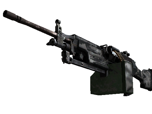 M249 | Contrast Spray (Battle-Scarred)