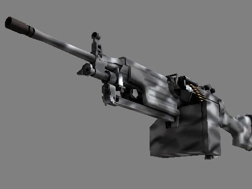 Скин M249 | Контрастные цвета (Немного поношенное)
