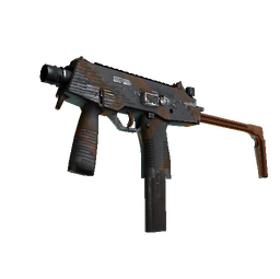 Souvenir MP9 | Slide (Well-Worn)