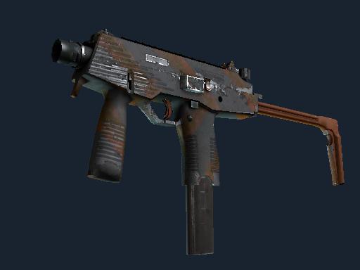 Скин MP9 | Занос (После полевых испытаний)