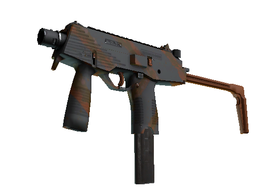 MP9 | Slide (Battle-Scarred)