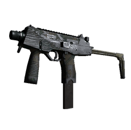 MP9 | Green Plaid (Battle-Scarred)