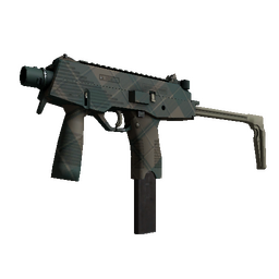 MP9 | Green Plaid
