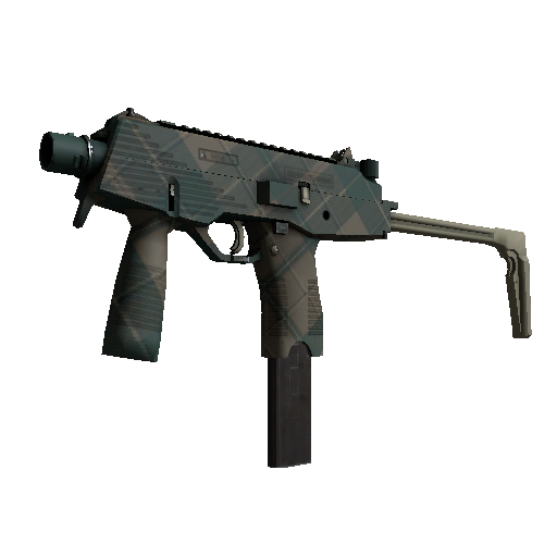 MP9 | Green Plaid - gocase.pro