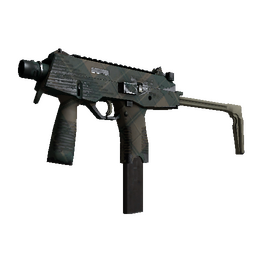MP9 | Green Plaid (Well-Worn)