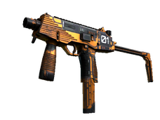 Skin MP9 | Modest Threat