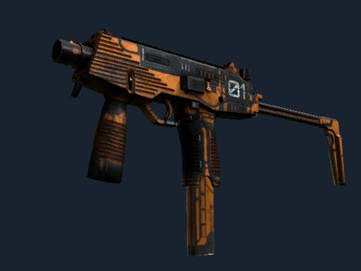 Скин StatTrak™ MP9 | Скромная угроза (Закаленное в боях)