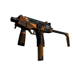 StatTrak™ MP9 | Modest Threat (Battle-Scarred)