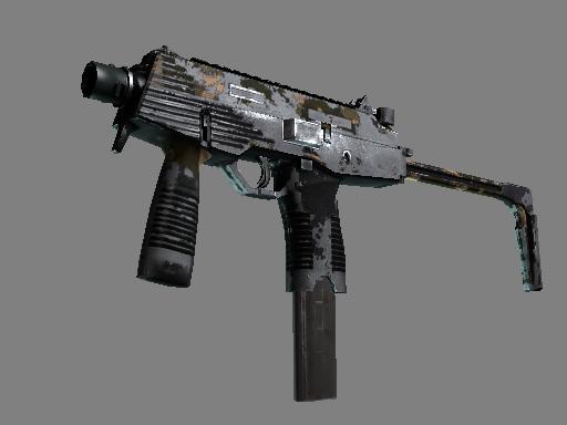 Скин StatTrak™ MP9 | Чёрный песок (Закаленное в боях)