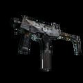 MP9 | Black Sand <br>(Battle-Scarred)