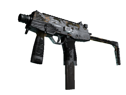 MP9 | Black Sand Battle-Scarred