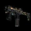 MP9 | Black Sand (Well-Worn)