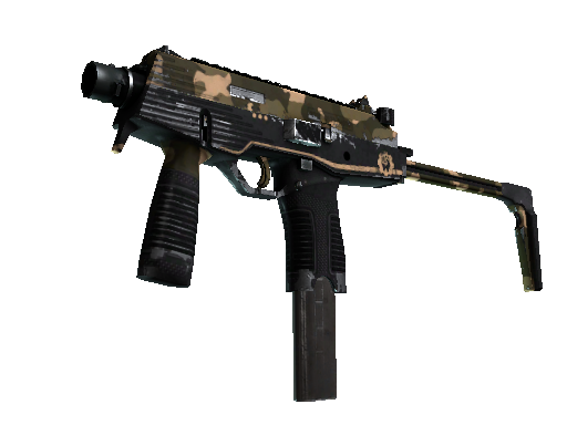 Скин StatTrak™ MP9 | Чёрный песок (После полевых испытаний)