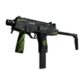MP9 | Deadly Poison <br>(Battle-Scarred)