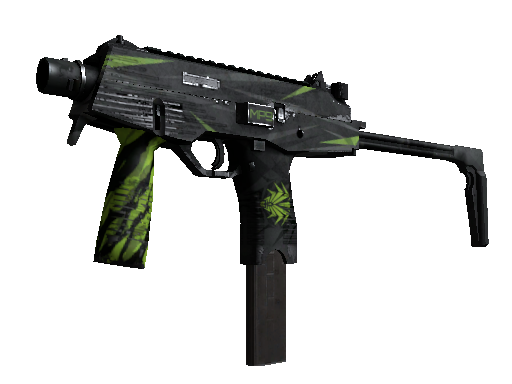 MP9 | Deadly Poison Battle-Scarred
