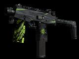 StatTrak™ MP9 | Deadly Poison (Well-Worn)