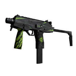 StatTrak™ MP9 | Deadly Poison (Well-Worn)