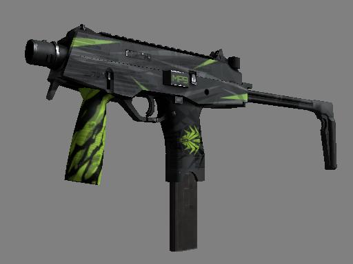 Скин StatTrak™ MP9 | Смертельный яд (Поношенное)
