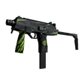MP9 | Deadly Poison <br>(Well-Worn)