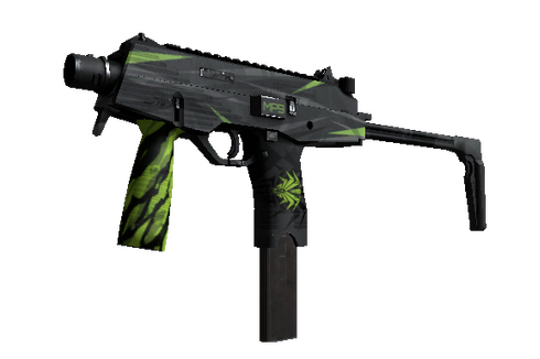 Buy StatTrak™ MP9 | Deadly Poison (Well-Worn)