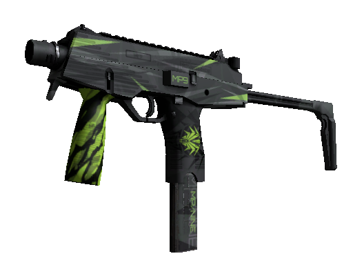 MP9 | Deadly Poison Minimal Wear