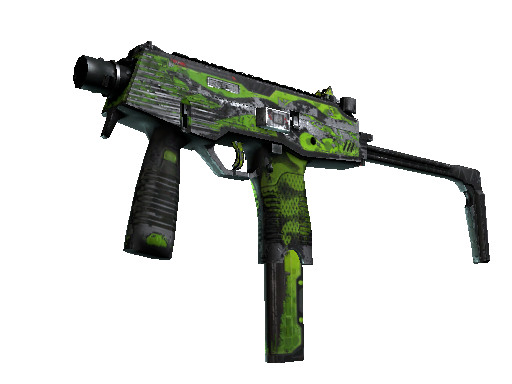 MP9 | Hydra Battle-Scarred