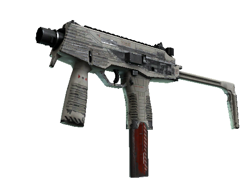 MP9 | Airlock Battle-Scarred