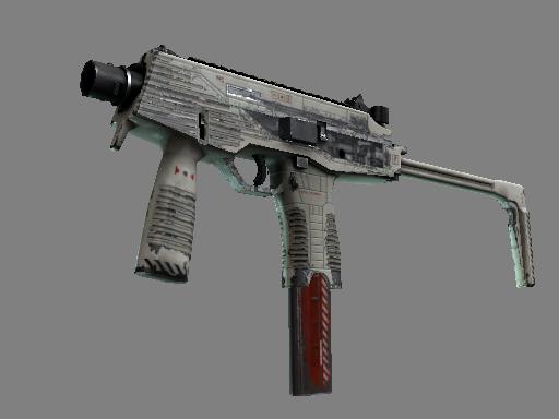 Скин MP9 | Воздушный шлюз (Закаленное в боях)