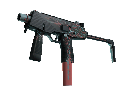 StatTrak™ MP9 | Capillary (Battle-Scarred)