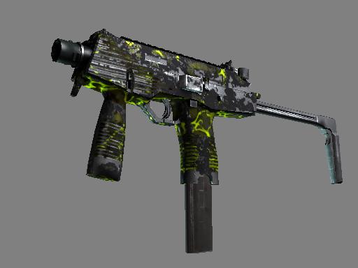 MP9 | Bioleak Battle-Scarred