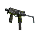 MP9 | Bioleak <br>(Battle-Scarred)