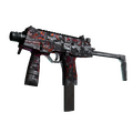 MP9 | Ruby Poison Dart <br>(Battle-Scarred)