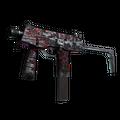 StatTrak™ MP9 | Ruby Poison Dart <br>(Battle-Scarred)