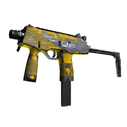 MP9 | Bulldozer (Battle-Scarred)