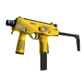 MP9 | Bulldozer <br>(Well-Worn)